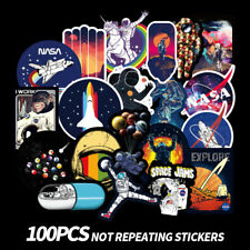 100 universe Skateboard Longboard Vintage Vinyl Sticker Laptop Luggage Car Decal
