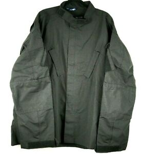 Propper Tactical Shirt Jacket Men Size 3X Black Military Stop Law Safety LS