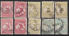 Australia 1913-27 collection of 10 used