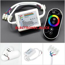 12-24V Wireless Touch Panel RF RGB Remote Controller For RGB LED Strip Light 18A