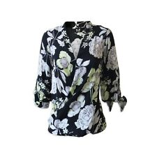 *New* Dorothy Perkins Floral Wrap Front Top Blouse ~ Size 14