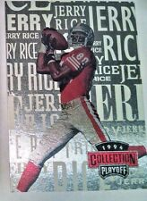 1994 Playoff Collection Subset #3 of 5 Jerry Rice Football Card Rare NM Nice!