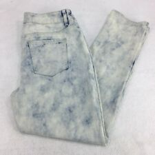 NWT Chico's Platinum Ankle Jeans Size 6 Vanity Size 0.5 Light Cloudy Mist
