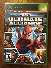 Marvel: Ultimate Alliance (Microsoft Xbox, 2006) USED