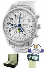 Longines Master Collection Moonphase Day Date Chronograph L2.673.4.78.6 Watch