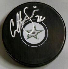 COLTON SCEVIOUR Signed DALLAS STARS HOCKEY PUCK 1007516