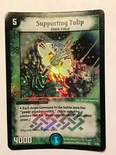 Supporting Tulip Duel Masters DM04 Very Rare card FOIL TCG CCG