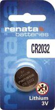 Pile bouton Renata Lithium CR2032 3V Lithium