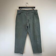 VTG Levi's Jeans 550 Orange Tab Relaxed Tapered Green Size: 36x32 (35x28) #7521