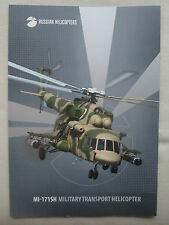 2015 PLAQUETTE RUSSIAN HELICOPTERS MI-171SH MILITARY TRANSPORT HELICOPTER