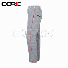 Civil War Cs Artillery Wool Pants, Red Trim with back pockets All Sizes