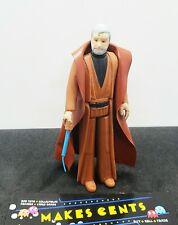 Kenner 1977 Star Wars Loose Complete Ben Obi Wan Kenobi White Hair Clean Figure