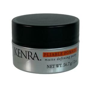 Lot of 2  Kenra Pliable Pomade 15 Matte Defining Putty 2 oz