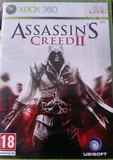 """JEU XBOX 360 """"ASSASSIN CREED II"""" (VF Intégrale)  NEUF SOUS BLISTER"""