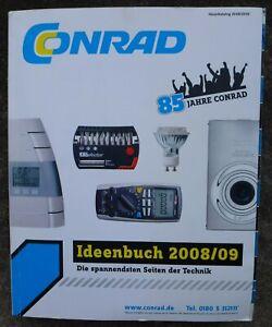 85 Jahre Conrad - Conrad Katalog - Ideenbuch 2008/09 -
