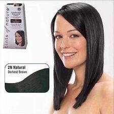 Women's Dark Brown Hair Colouring