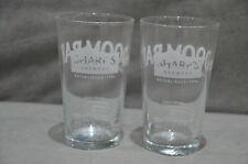 Pair Of (2) Sharp's Brewery Rock Cornwall Doom Bar Beer Half Pint Glass CE M16
