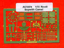 Airwaves 1/72 Sopwith Camel etch for Revell kit # AEC72074