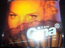 Gina G Ti Amo UK (CD 2) Remixes CD Single