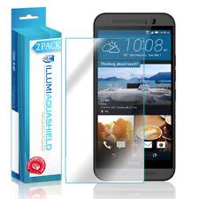 2x iLLumi AquaShield Crystal HD Clear Screen Protector Shield for HTC One M9