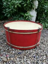 More details for early 20th century large ceremonial drum by r.s. kitchen of leeds. ideal upcycle