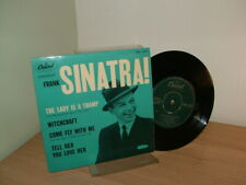 """FRANK SINATRA! THE LADY IS A TRAMP EP 7""""SINGLE 1950""""s 1960""""s RARE"""