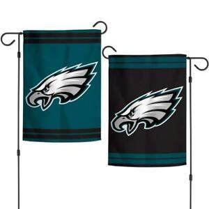 """NFL Philadelphia Eagles 2 Sided Garden Flag 12.5"""" x 18"""""""