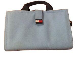 Tommy Hilfiger Makeup Toiletries Men's Women's Travel Bag, Blue
