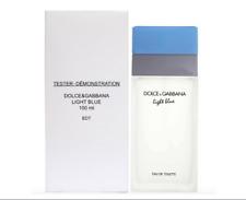 DOLCE GABBANA Light Blue 3.4 Women's EDT 100ML In Box W Cap TST New