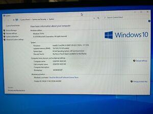 HP ProDesk 600 G4  i5-8500T 16GB RAM  256GB SSD HD Windows 10 Pro WiFi