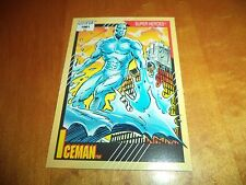 Iceman # 8 - 1991 Marvel Universe Series 2 Impel Base Trading Card