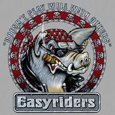 Easyriders NON GIOCARE BENE con gli altri Manica Lunga T-shirt in grandi