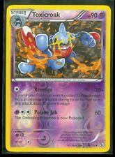 Pokemon TOXICROAK 63/113 Legendary Treasures RARE Rev Holo - MINT