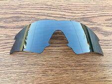 Black Chrome Iridium Polarized Replacement lenses for-Oakley M frame Sweep