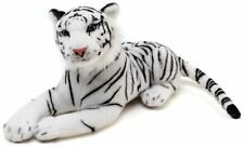 Saphed the White Tiger | 20 Inch Stuffed Animal Plush | By Tiger Tale Toys