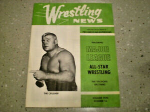 Vintage Wrestling News Magazine Denver CO Volume 1970 Number 24 All Star AWA
