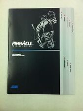 1991-92 Pinnacle Premier Hockey Product Promotional Pamphlet (Lemieux/Roenick)