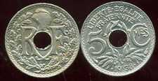 5 centimes .1938.  SPL   avec points