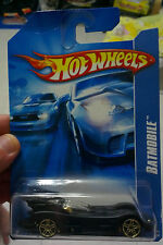 Hot Wheels Batman Batmobile with Metallic Gold Rims and Gold Undercarriage. RARE