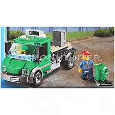 LEGO City Cargo Lorry truck (Split) from 60052 cargo Train - No Box - NEW