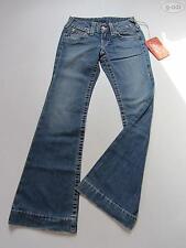 True Religion Schlag Jeans Hose CANDICE, 28/ 34, NEU ! Hippie Denim Made in USA!