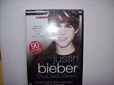 DVD - JUSTIN BIEBER - NEUF SOUS CELLO