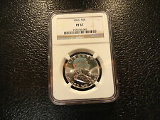 1963  FRANKLIN SILVER HALF DOLLAR NGC PF67  PROOF-BRILLANT-BELOW BOOK-OFFERS