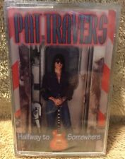 Cassette Pat Travers titled Halfway To Somewhere Brand New Sealed