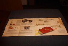 Schuco 5311 BLA vintage manual für Blinkeinheit für Ingenico Car Auto 50ies