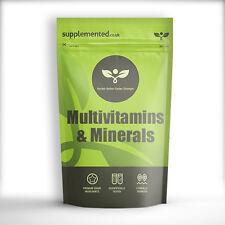Multivitaminas y Minerales 100% RDA de 180 tabletas ✔ UK Made ✔ Letterbox amigable