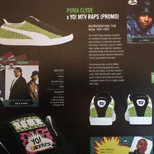 Flyer PUMA CLYDE x YO! MTV RAPS (PROMO)