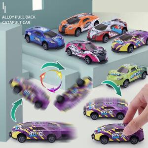 1/6 Pc Stunt Toy Car Creativity Mini Models Pull Back Vehicles for Children Gift