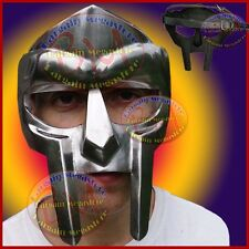 Roman Gladiator Helmet Face Mask, Adult Size Wearble Metal Face-Mask Xmas Gift