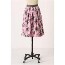 ODILLE Splendid Celebration Skirt 8 NEW Pink Rose Print valentine's day